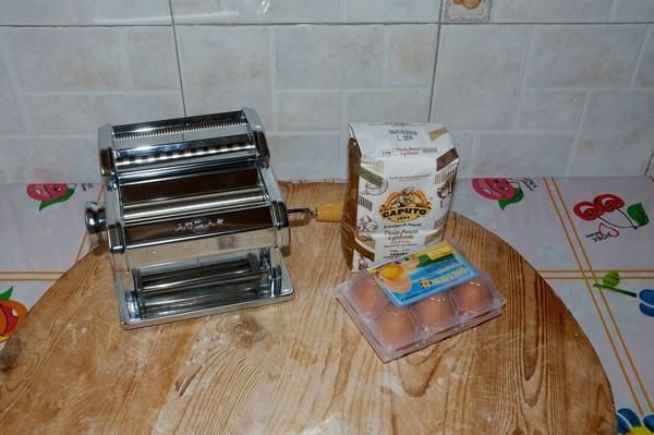 Pasta all'uovo - Ricetta base