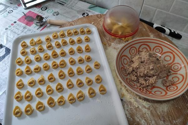 Tortellini fatti in casa