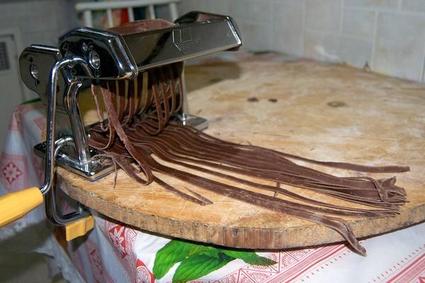 Tagliatelle al cacao