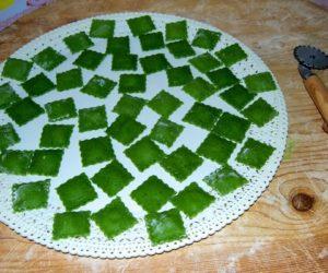 Ravioli ricotta e spinaci invertiti