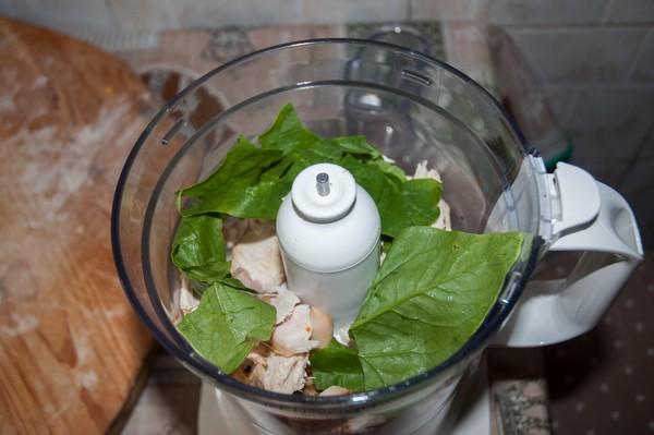 Ravioli pollo e spinaci