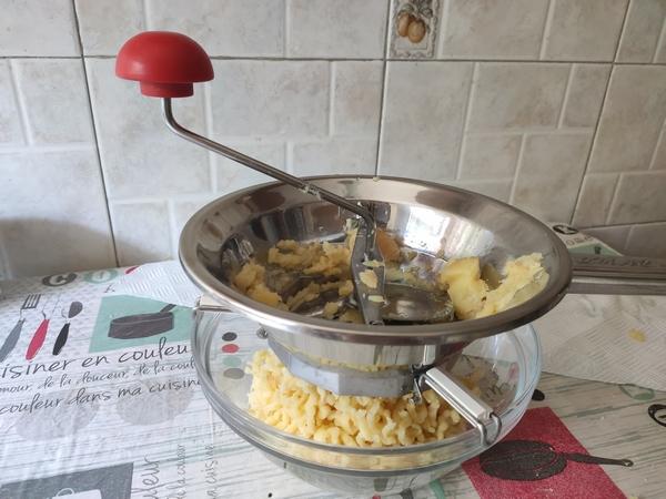 Tortelli di patate floreali
